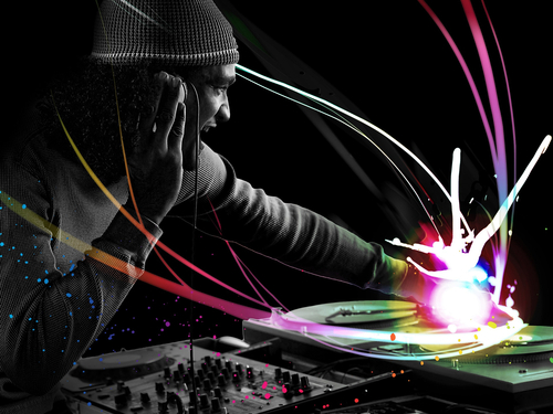 Cool-dj-colorful-background-