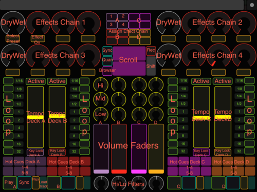 DJ TechTools - Controller for Touch OSC