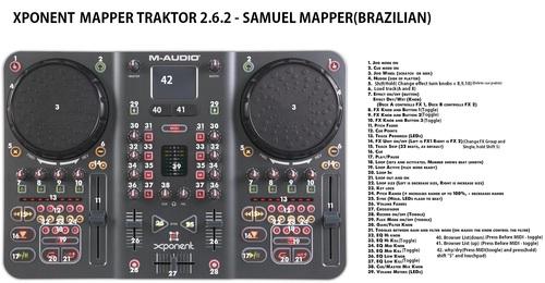 Xponent_mapper_traktor_2.6.2_-_samuel_mapper(brazilian)