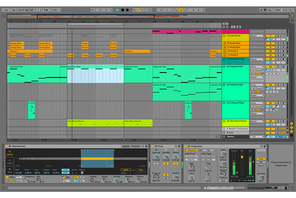 dj ableton sound packs